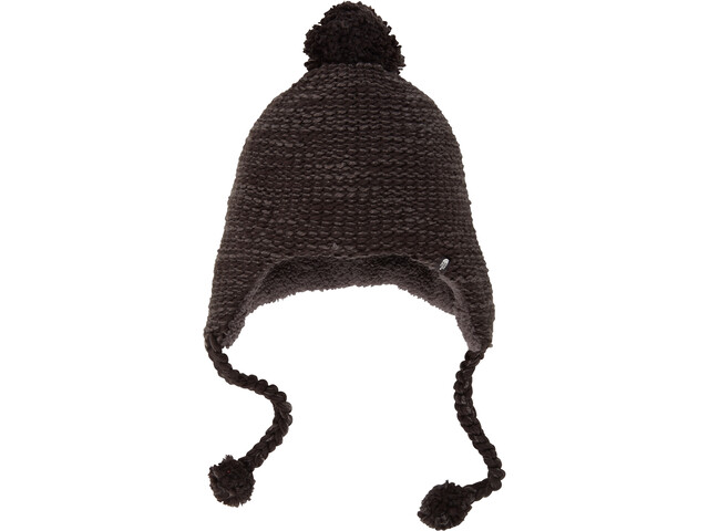 The North Face Fuzzy Earflap Bonnet Femme, tnf black/asphalt grey